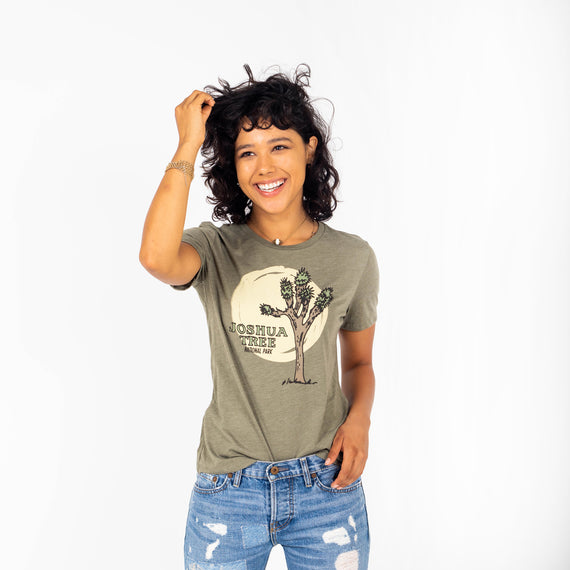 Joshua Tree Yes Please Women's Tee | Parks Project | Outdoor Clothing