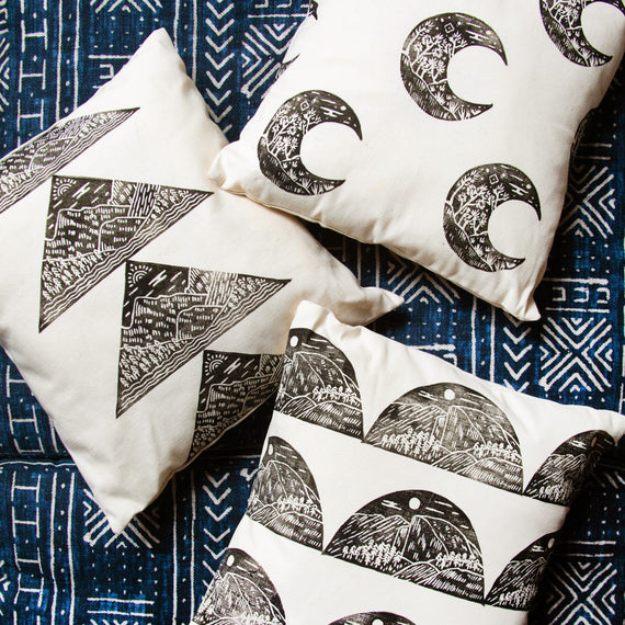 Parks Project x Land and She Rocky Mountain Pillow | Parks Project | National Parks Pillows