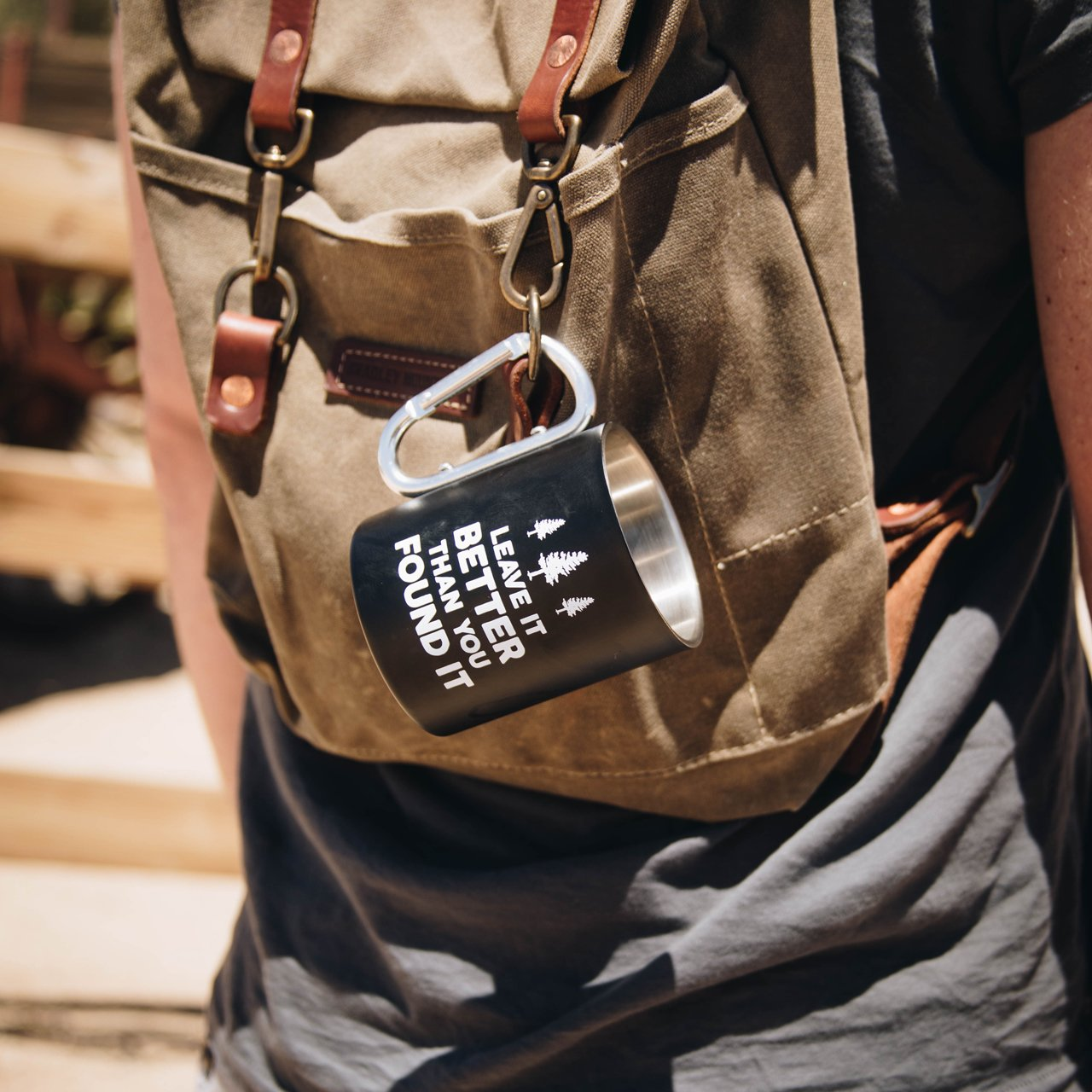 Leave it Better Carabiner Mug