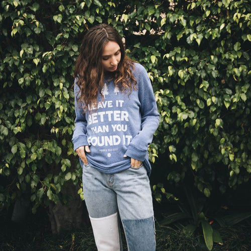 Leave it Better Crew Sweatshirt | Parks Project | National Park Sweatshirt