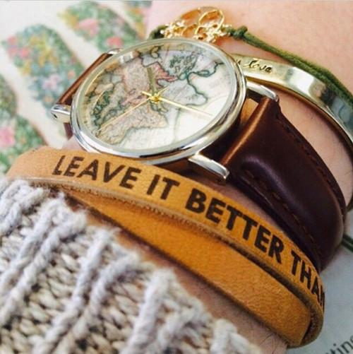 Leave it Better Wrap Bracelet | Parks Project | National Parks Accessories