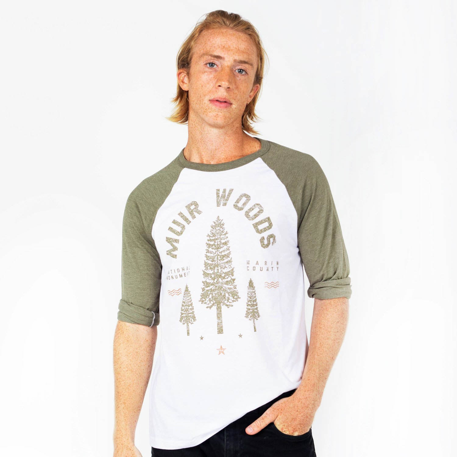 Muir Woods Redwood Raglan