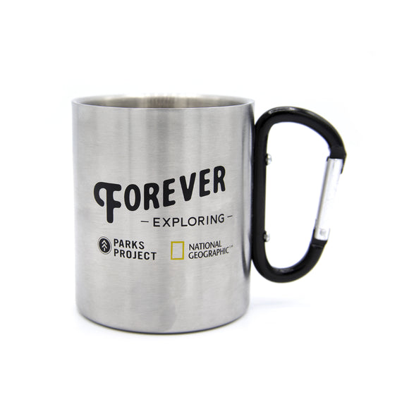 National Geographic x Parks Project Explorer Carabiner Mug | Parks Project | Nat Geo Forever Exploring Capsule