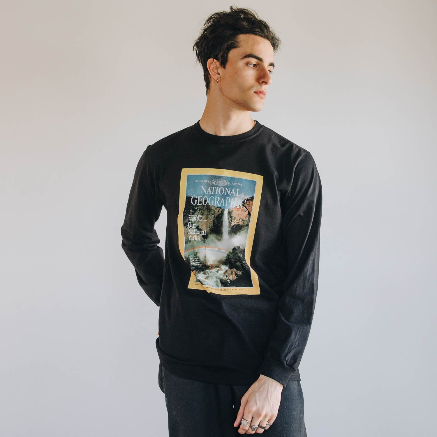 National Geographic x Parks Project Vintage Magazine Cover Long Sleeve Tee | Parks Project | National Parks Shirts