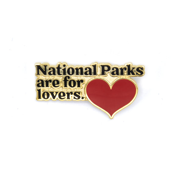 Parks for Lovers Pin