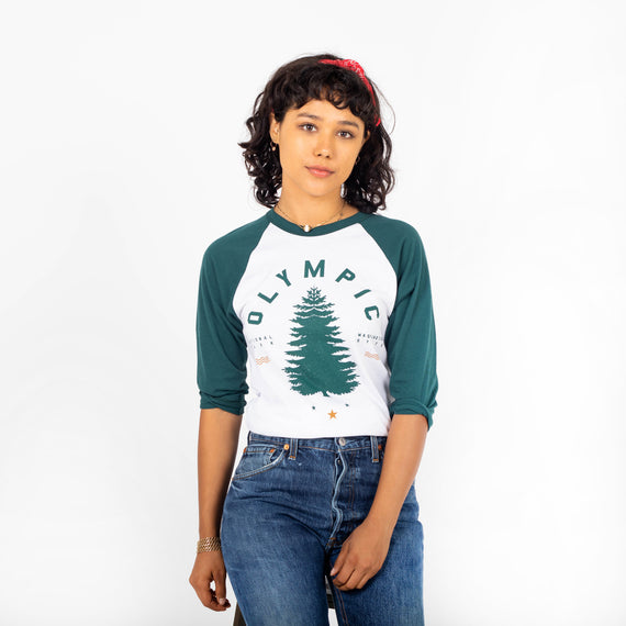 Olympic National Park Raglan | Parks Project | National Park Vintage Shirts