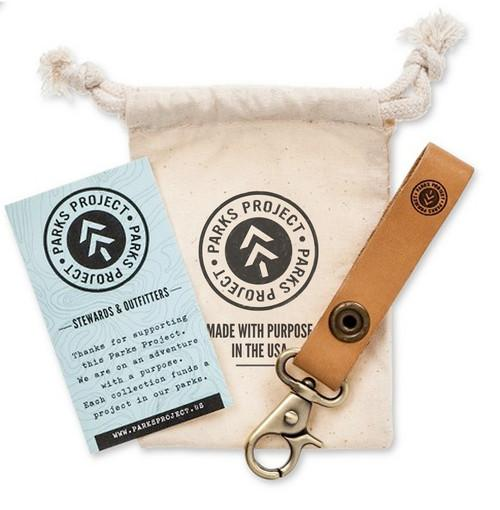 "Parks Advocate ""Leave it Better"" Keychain 