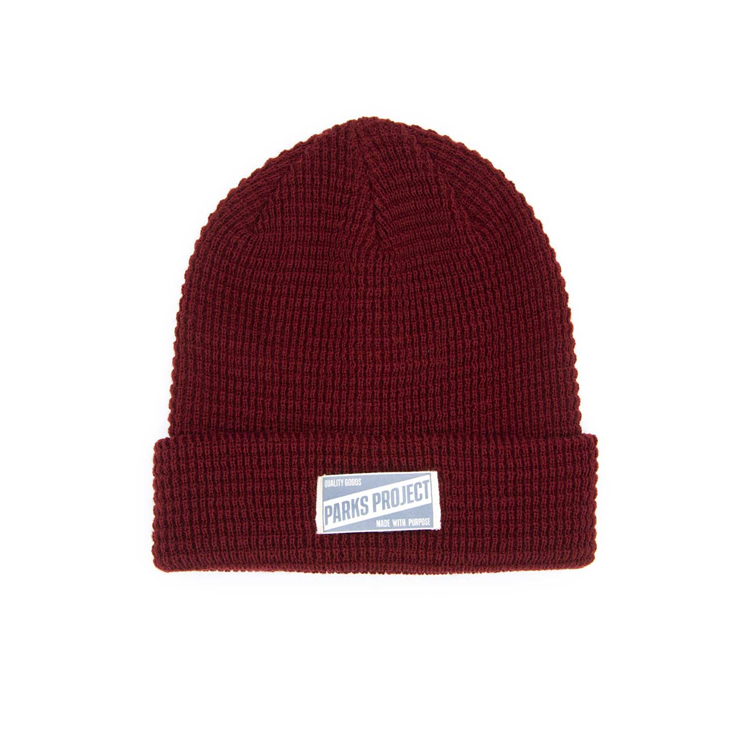 Quality Goods Deep Red Beanie | Parks Project | National Parks Gift Store