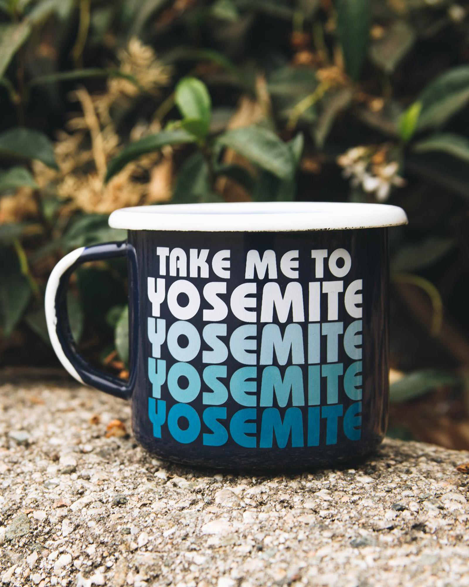 Take Me To Yosemite Limited Edition Enamel Mug