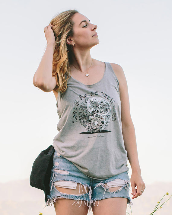 Lost & Found Trail Club Racerback Tank | Parks Project | National Park Tank