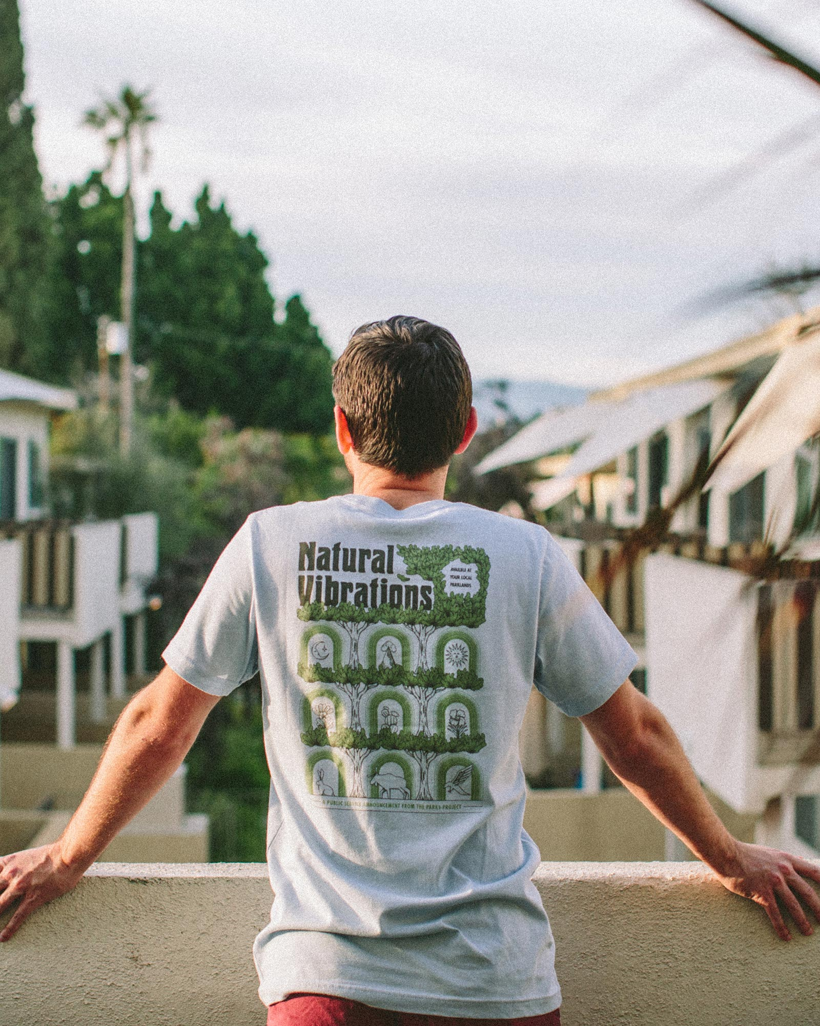 Parks Create Positive Vibrations Tee | Parks Project | National Park Tee