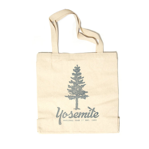 Yosemite Icon Canvas Tote | Parks Project | National Park Tote