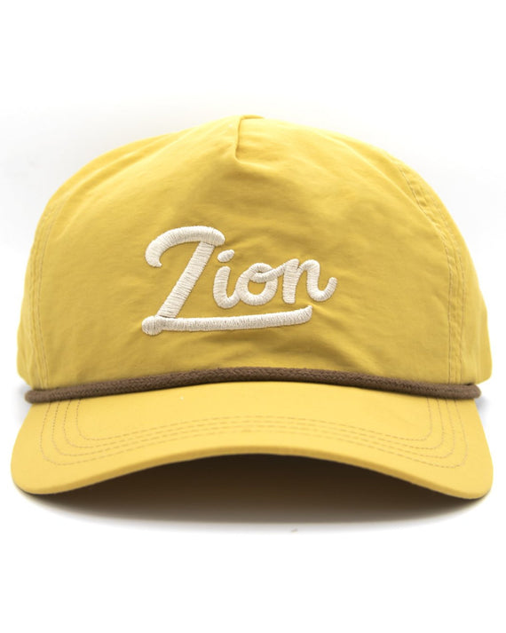 Zion Throwback Nylon Hat | Parks Project | National Parks Hat
