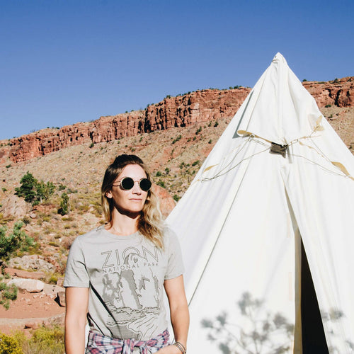 Zion National Park Cliff Tee | Parks Project | National park Women's Shirts