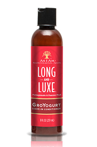 AS I AM Long & Luxe Pomegranate & Passion Fruit Leave In Conditioner 8oz