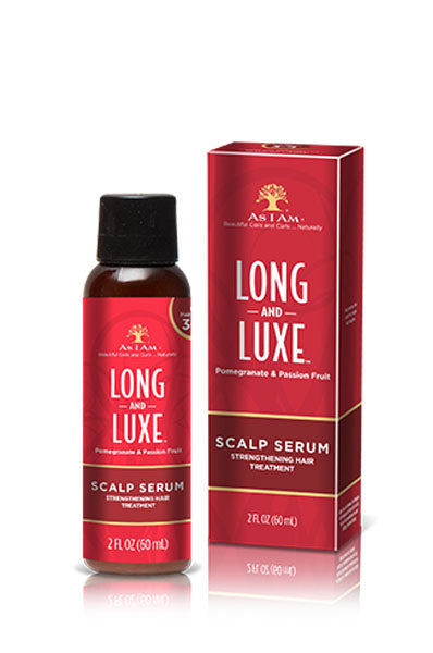 AS I AM Long & Luxe Pomegranate & Passion Fruit Scalp Serum 2oz