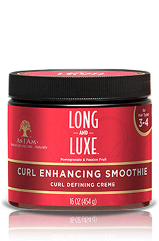 AS I AM Long & Luxe Pomegranate & Passion Fruit Curl Enhancing Smoothie 16oz