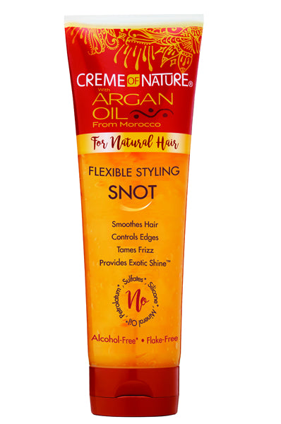 Creme of Nature Argan Oil Flexible Styling Snot 8.4oz