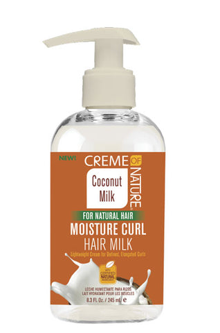 Creme of Nature Coconut Milk Moisture Curl Hair Milk 8.3oz