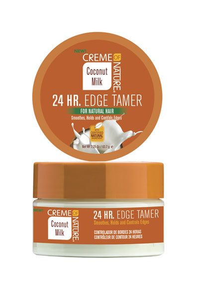 Creme of Nature Coconut Milk 24 Hr. Edge Tamer 2.25oz