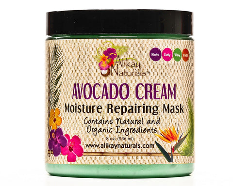 Alikay Naturals Avocado Cream Moisture Repairing Hair Mask 8oz