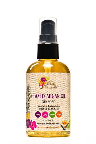 Alikay Naturals Glazed Argan Oil Silkener 4oz