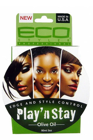 Eco Style Play 'n Stay Edge and Style Control - Olive Oil 3oz