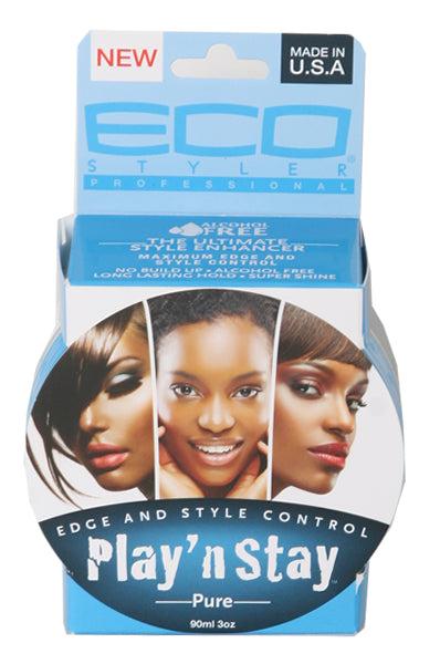 Eco Style Play 'n Stay Edge and Style Control - Pure 3oz
