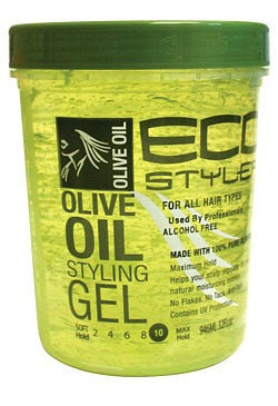 Ecostyler Professional Styling Gel with Olive Oil 32oz