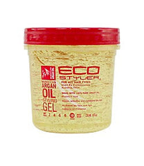 Ecostyler Professional Styling Gel with Moroccan Argan Oil 8oz
