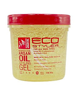 Ecostyler Professional Styling Gel with Moroccan Argan Oil 16oz