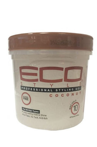 Ecostyler Professional Styling Gel with Coconut Oil 8oz