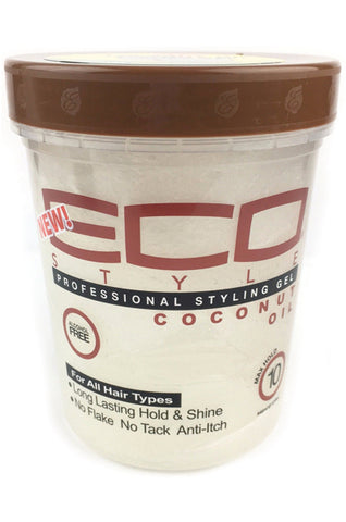 Ecostyler Professional Styling Gel with Coconut Oil 32oz