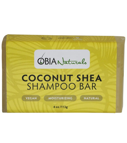 OBIA Coconut & Shea Shampoo Bar 4oz