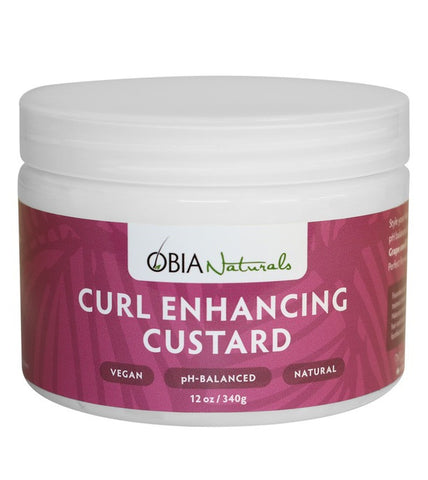 OBIA Curl Enhancing Custard 12oz