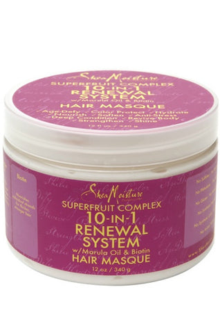 Shea Moisture Superfruit Complex 10-in-1 Renewal Hair Masque 12oz