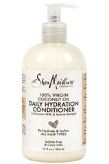 Shea Moisture 100% Virgin Coconut Oil Daily Hydration Conditioner 13oz
