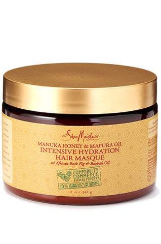 Shea Moisture Manuka Honey & Mafura Oil Hydration Intensive Masque 12oz