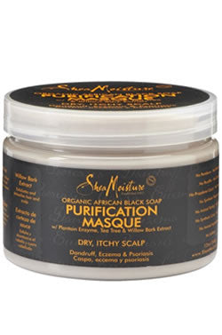 Shea Moisture African Black Soap Purification Masque 12oz