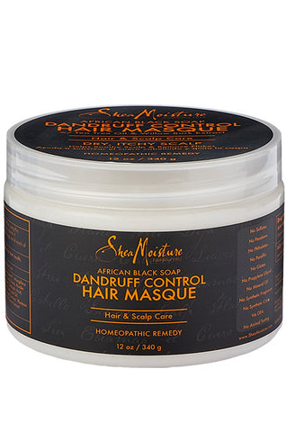Shea Moisture African Black Soap Dandruff Control Hair Masque 12oz