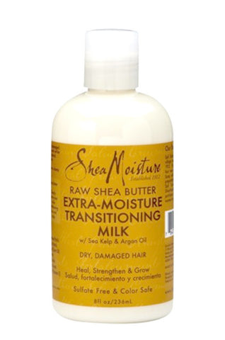Shea Moisture Raw Shea Butter Extra-Moisture Transitioning Milk 8oz