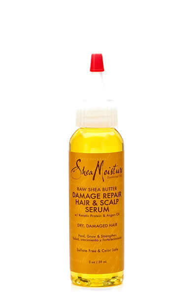Shea Moisture Raw Shea Butter Damage Repair Hair & Scalp Serum 2oz