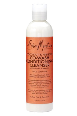Shea Moisture Coconut & Hibiscus Co-Wash Conditioning Cleanser 8oz
