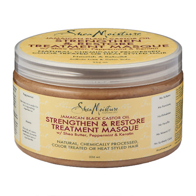 Shea Moisture Jamaican Black Castor Oil Strengthen & Restore Treatment Mask 12oz