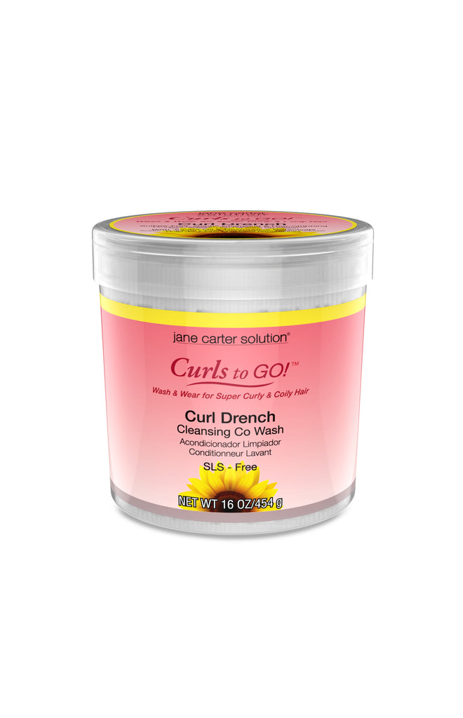 Jane Carter Solution Curls to Go - Curl Drench Cleansing Co-Wash 16oz.