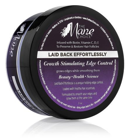 The Mane Choice - LAID BACK EFFORTLESSLY - Growth Stimulating Edge Control 2oz