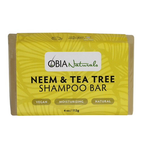 OBIA Neem Tea Tree Shampoo Bar 4oz