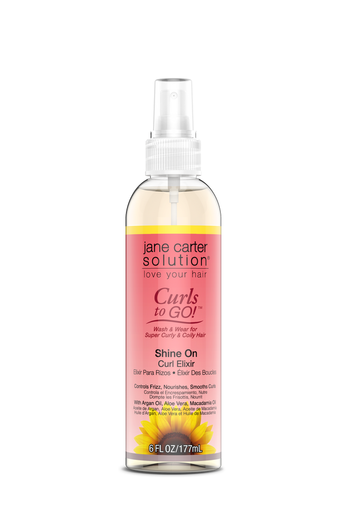 Jane Carter Solution Curls to Go - Shine On Curl Elixir 6oz.