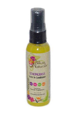 Alikay Naturals Lemongrass Leave In Conditioner 2oz
