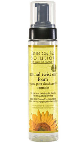Jane Carter Solution Natural Twist Out Foam 8oz